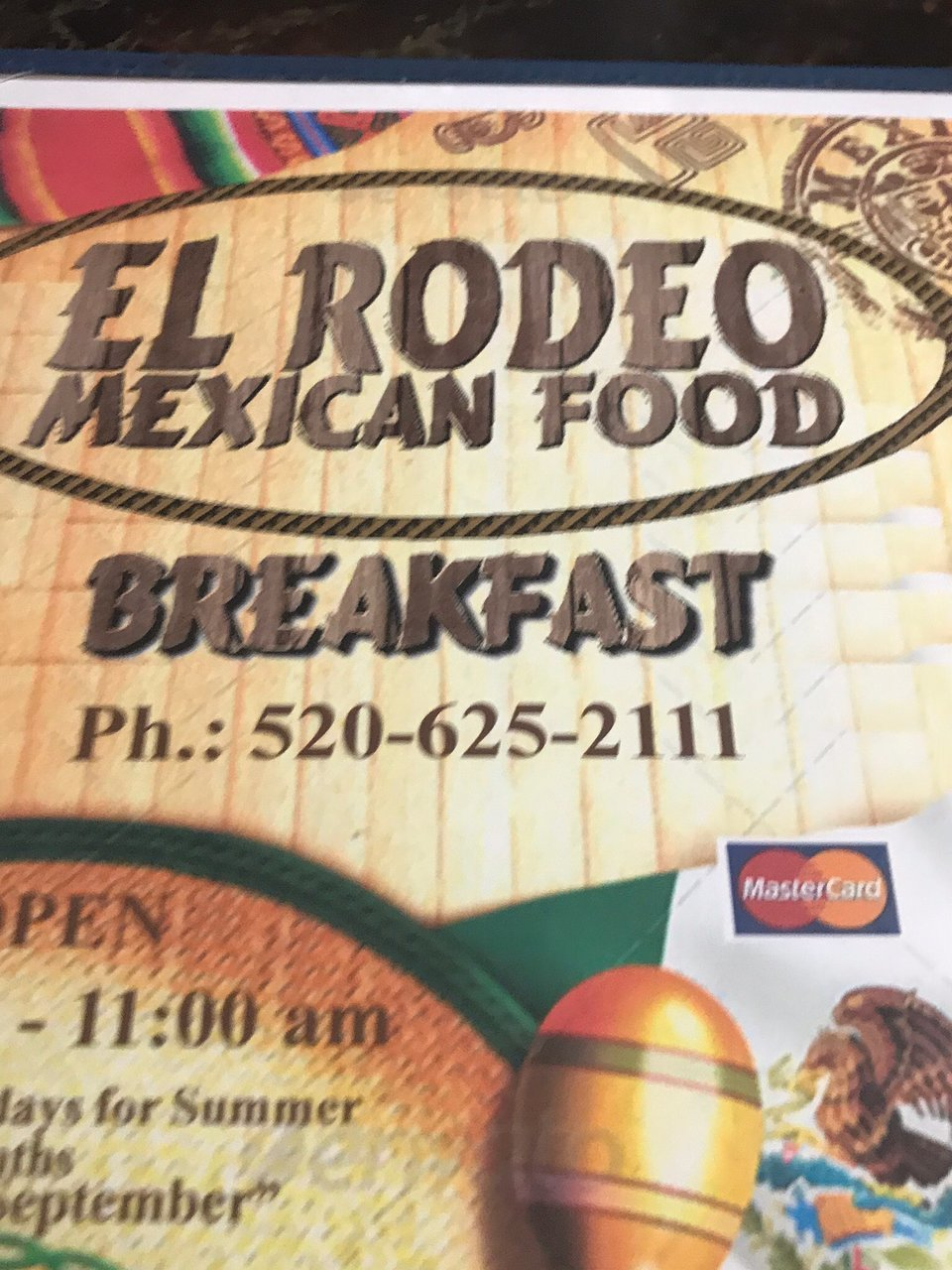 El Rodeo Mexican Food